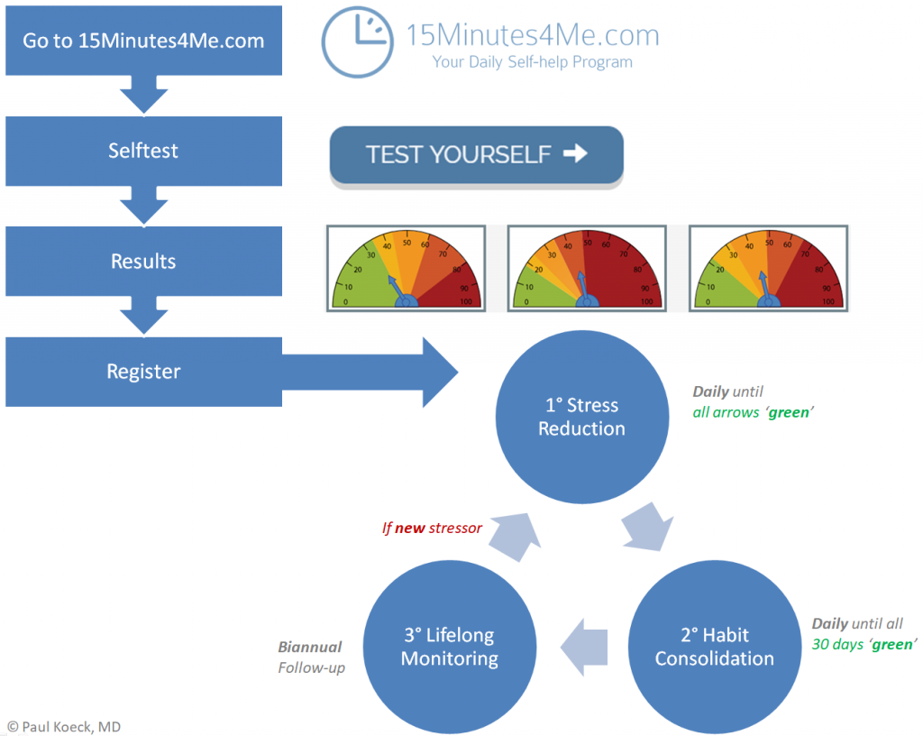 The process: How does online Selfhelp work?